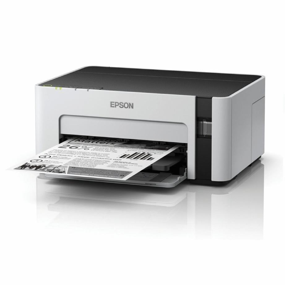 EPSON M1120 direka untuk keperluan pelajar dan pejabat memandangkan kos mencetak setiap helaian 40 peratus lebih rendah.