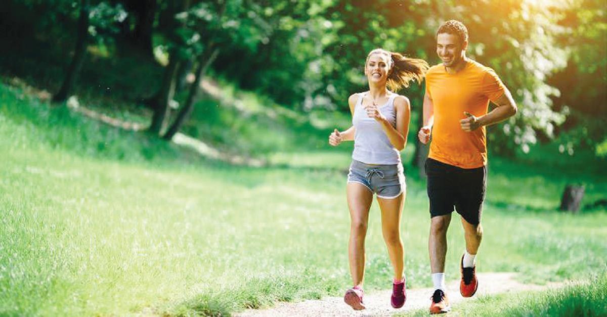 AMALAN gaya hidup sihat kunci kesihatan dan kesejahteraan kehidupan.