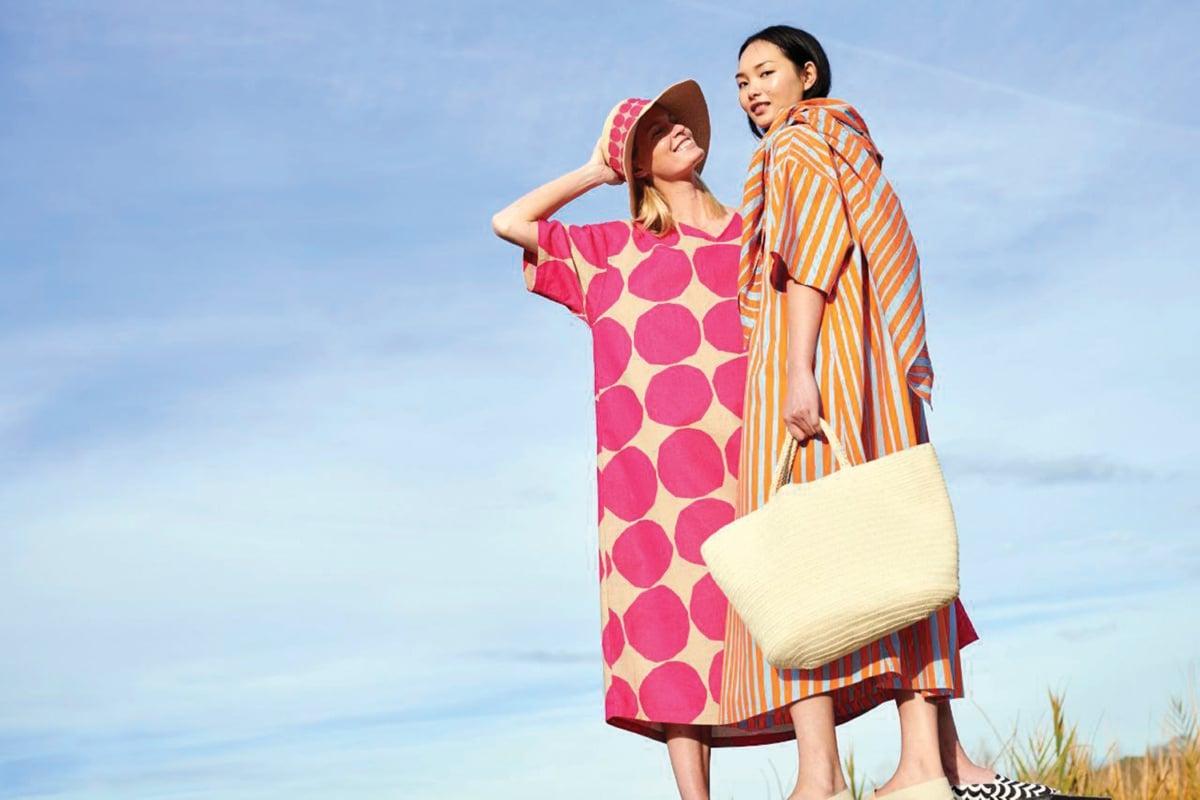 REKAAN menarik yang dihasilkan dengan kerjasama Marimekko.