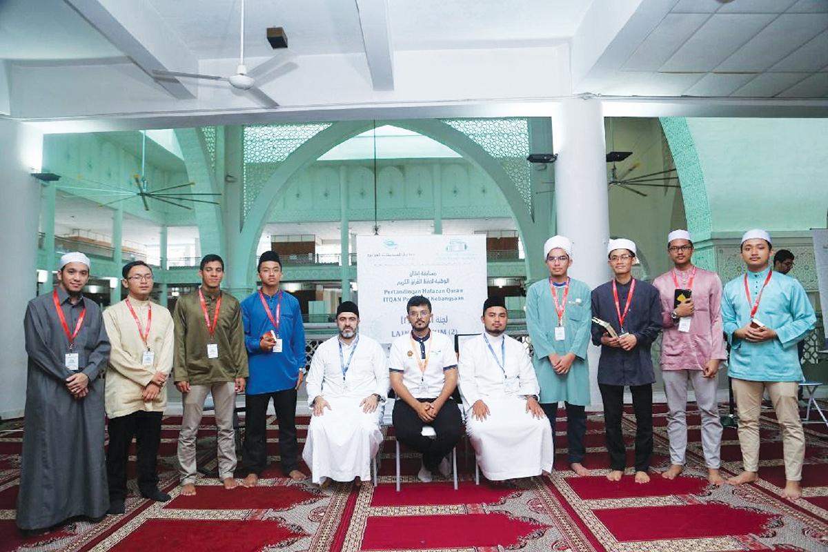 PELAJAR Techno-Huffaz PSA juga terbabit dengan pelbagai pertandingan hafazan al-Quran.