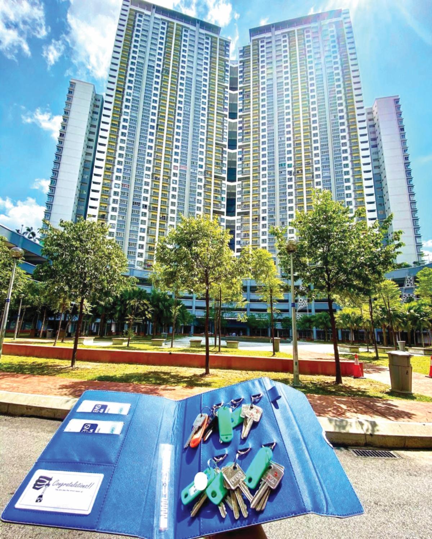 PANGSAPURI servis dan pangsapuri kondominium antara jenis hartanah paling laris.