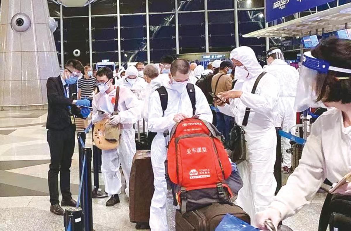 CHAN prihatin dan membantu memudahkan urusan penumpang China.