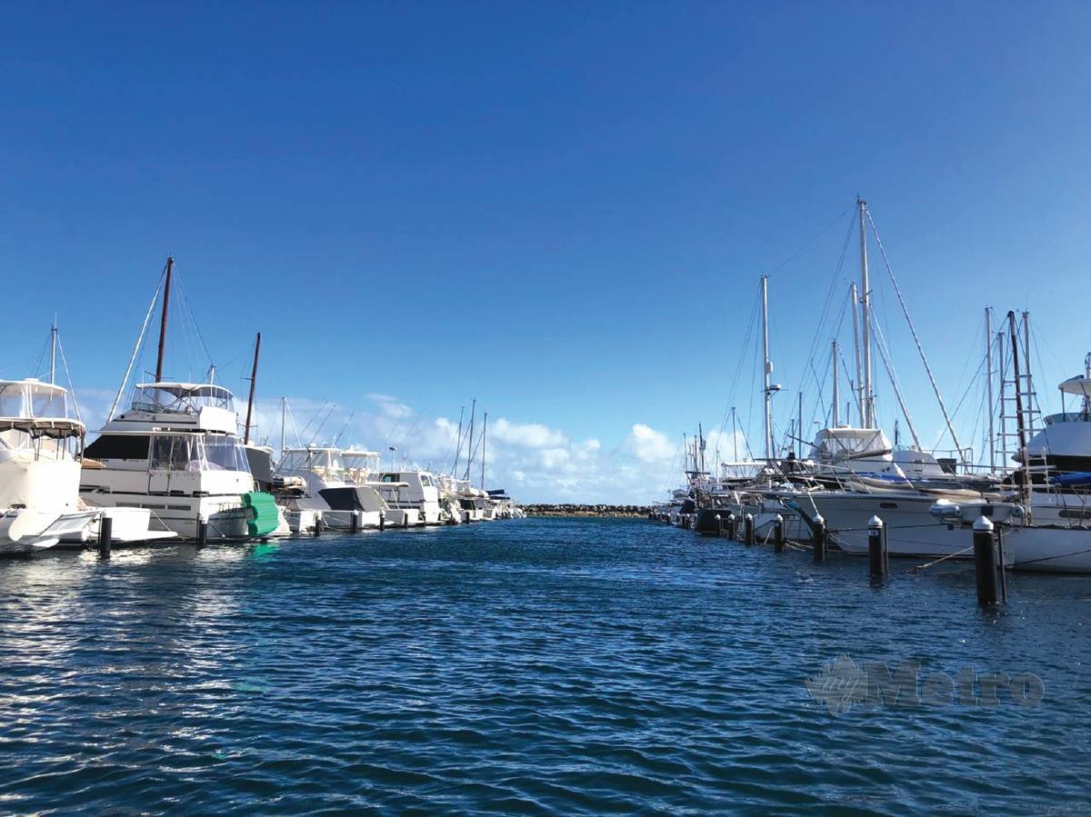 FREMANTLE Harbour menempatkan bot.