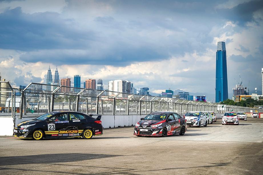 SUASANA perlumbaan di Bandar Malaysia, Kuala Lumpur.