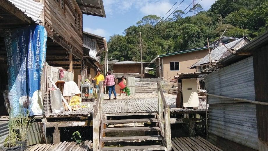 RUPA kampung tradisi 200 tahun. FOTO Ihsan Kumpulan Media STB