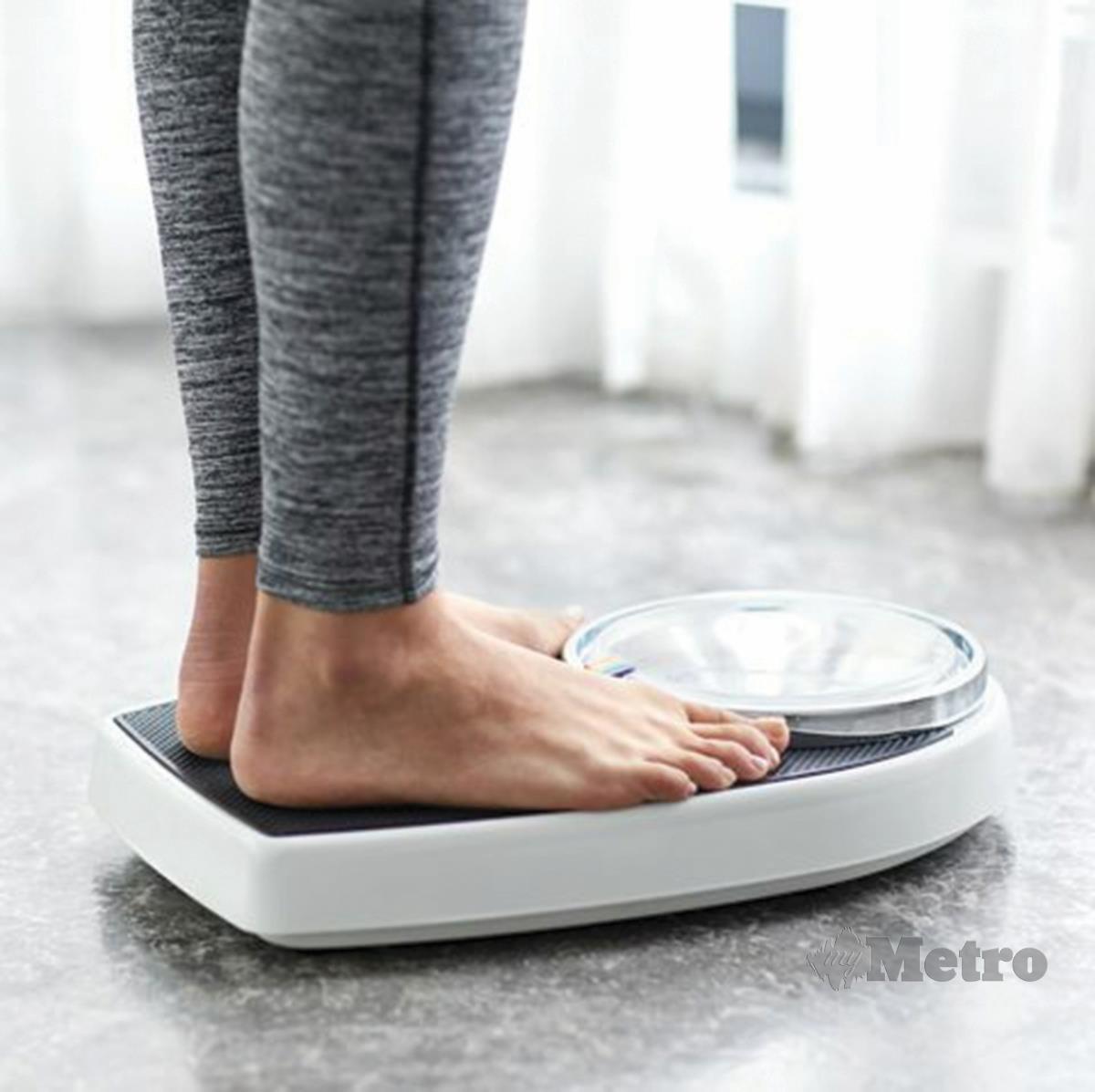 SUSUT berat badan antara gejala kemurungan postpartum.