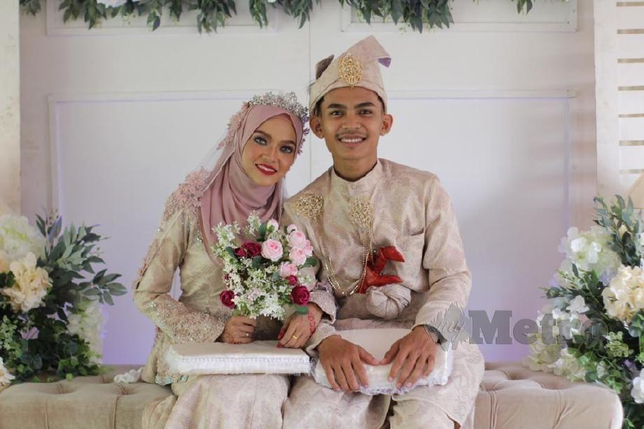 PASANGAN OKU pendengaran, Muhammad Faiz dan Nur Farahin selamat disatukan sebagai suami isteri pada 25 Januari lalu