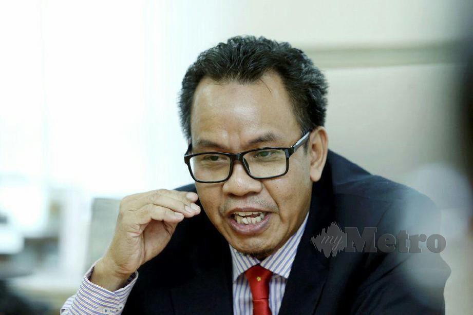 EXCO Kerja Raya, Pengangkutan dan Kemudahan Awam Melaka, Datuk Mohd Sofi Wahab. FOTO AMIR MAMAT