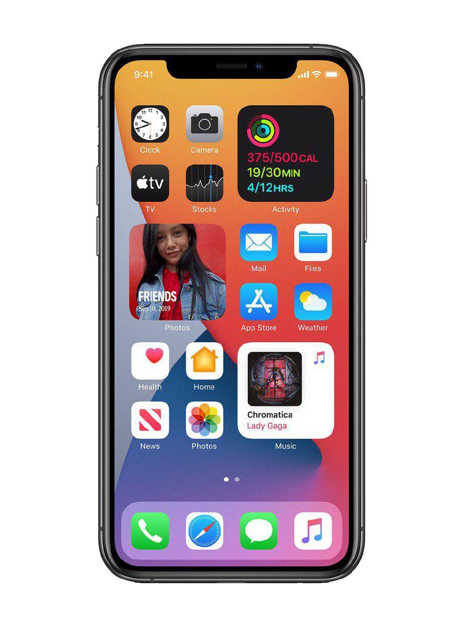 PENGGUNA iPhone boleh letak sebarang kemasan pada tetapan skrin ikut tahap kepenggunaan
