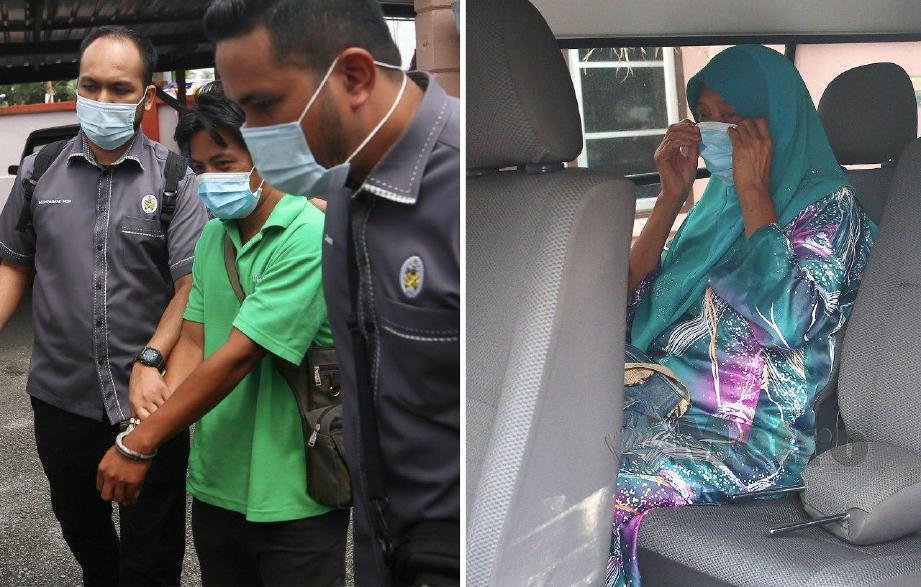 JANDA anak empat  dan duda didenda RM2,800 di Mahkamah Rendah Syariah Kuala Berang atas tuduhan berkhalwat.  FOTO Ghazali Kori