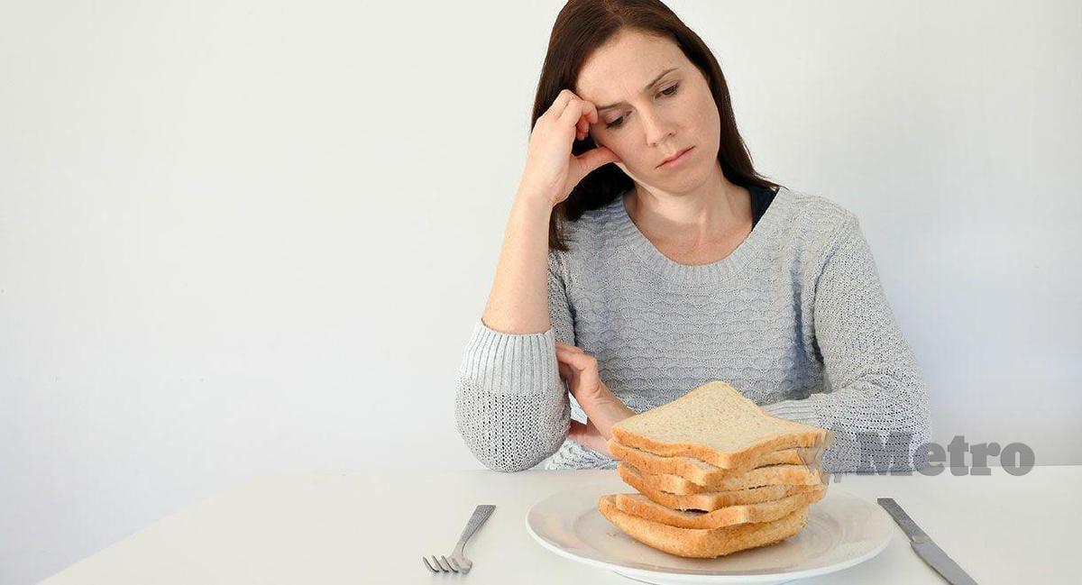 PESAKIT seliak tidak boleh makan bahan ada gluten.