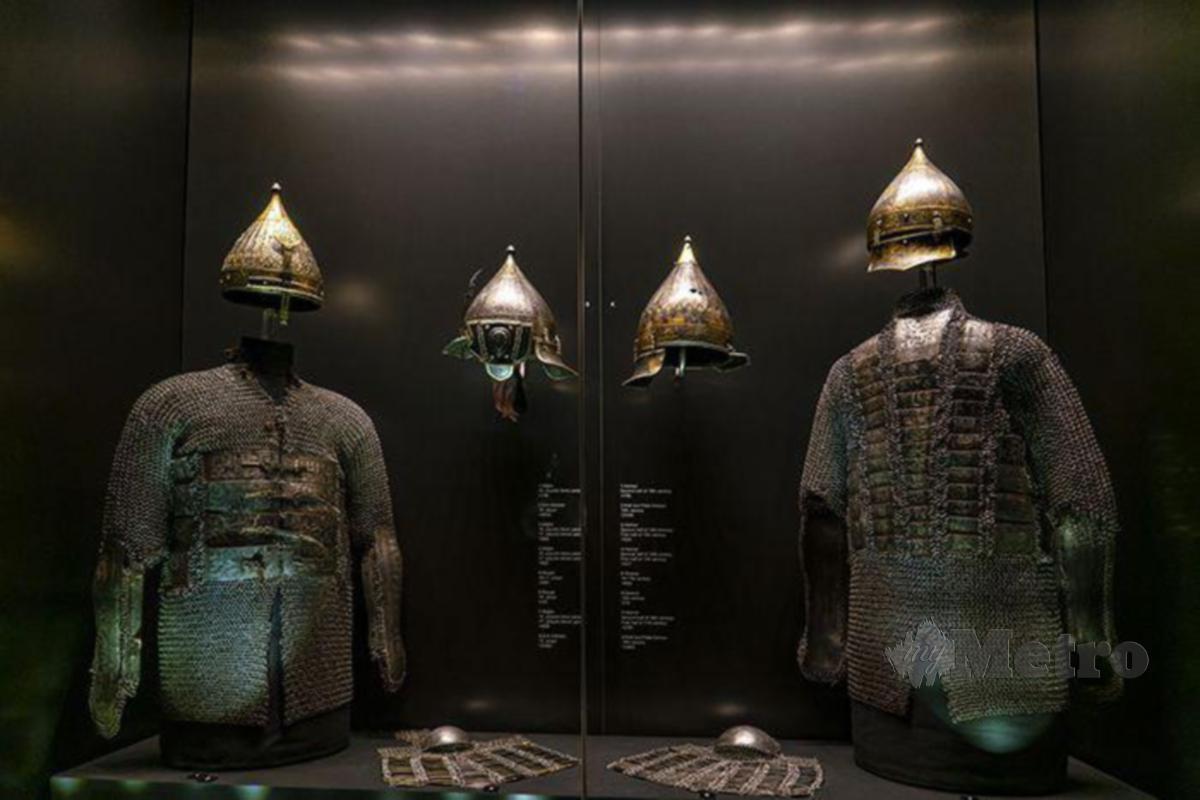 ANTARA tinggalan bersejarah yang dipamerkan di Muzium Topkapi Palace.
