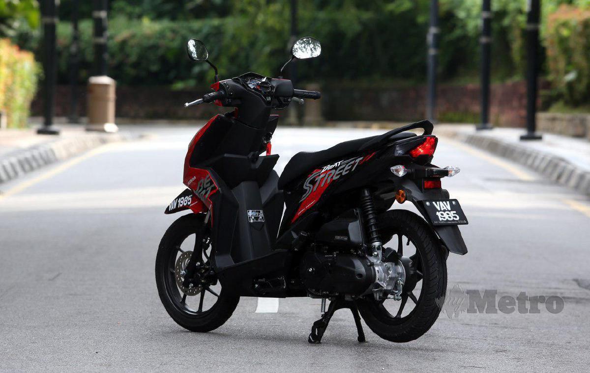 REKAAN kompak dan enjin 110cc responsif.