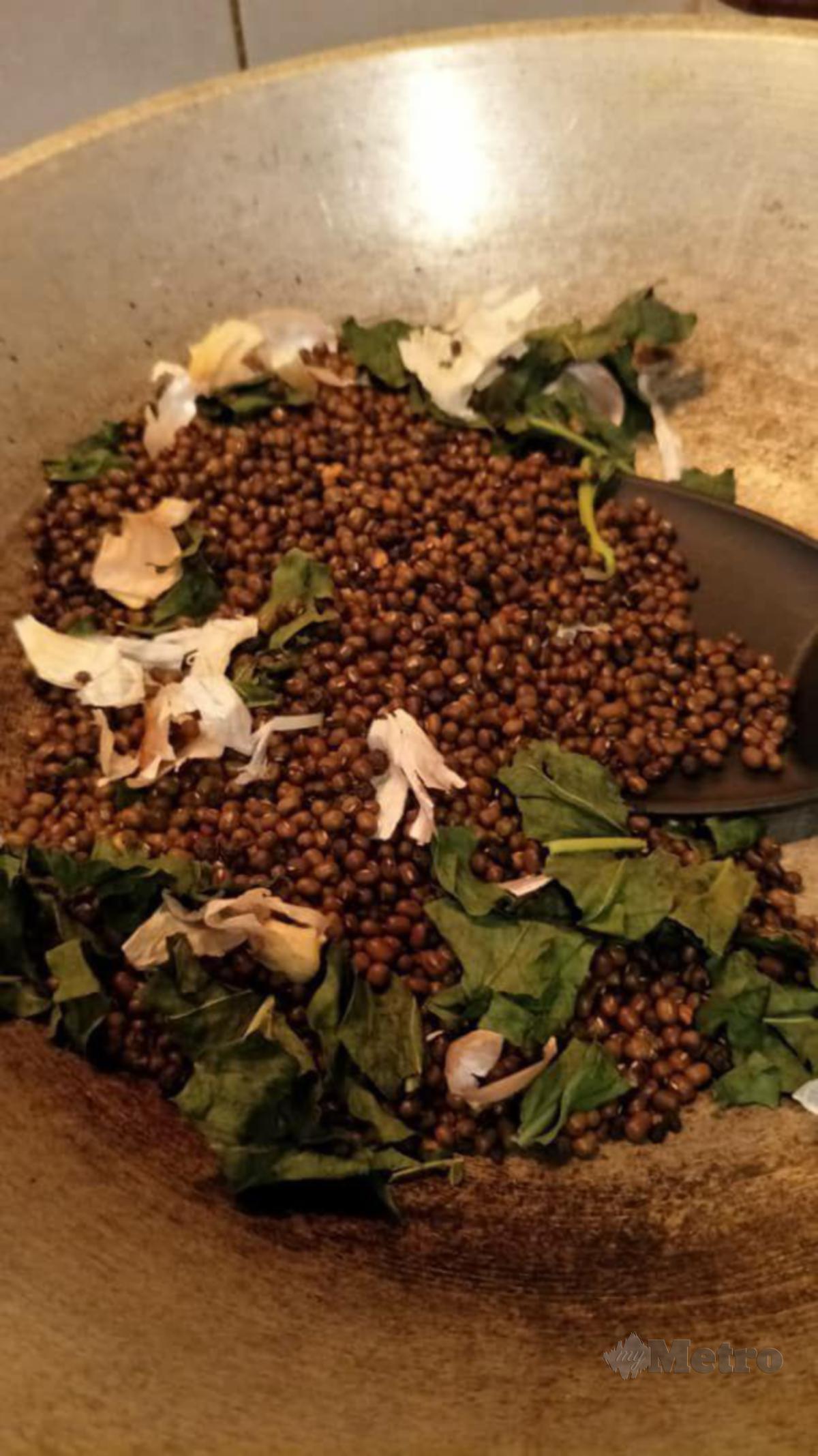 PENYEDIAAN tuam mudah apabila herba atau kekacang boleh memberi kebaikan kepada tubuh.