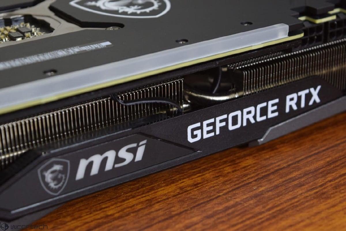 Nvidia GeForce RTX 3060Ti.