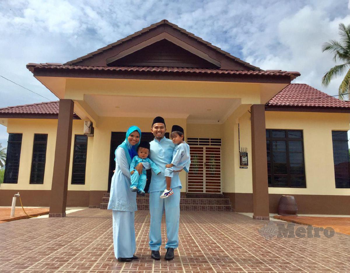 RADIN AZAM dan keluarga memiliki tiga rumah yang dibeli secara lelong.