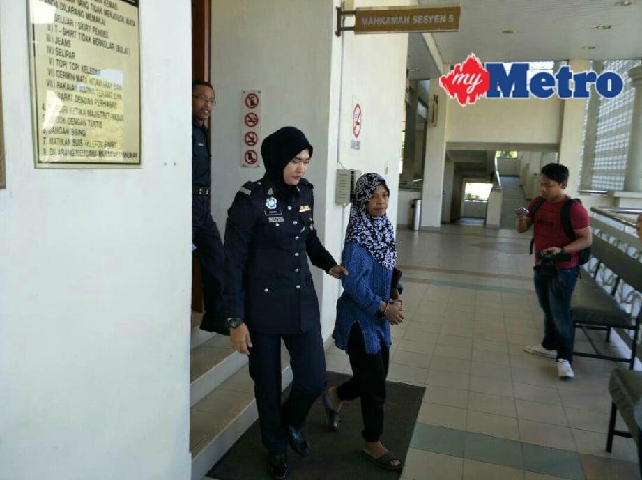Tukang cuci dihukum penjara 24 bulan curi wang RM12,000. FOTO Meor Riduwan Meor Ahmad