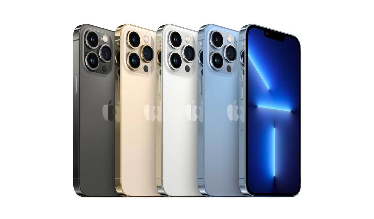 TAWARAN empat warna iPhone 13 Pro dan versi Pro Max