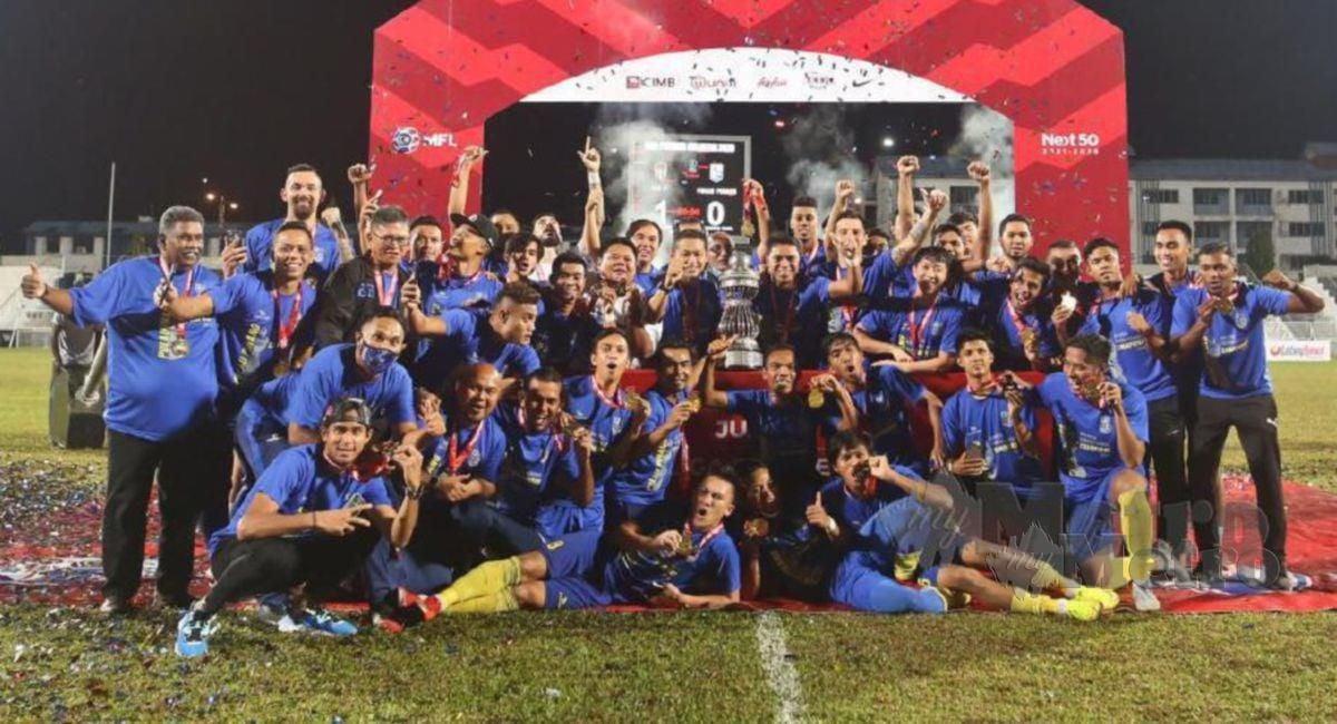 JUARA Liga Perdana, Pulau Pinang mampu cipta kejutan.