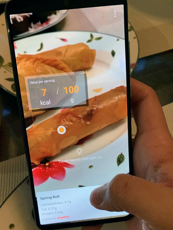 BAGI yang risau dengan jumlah pengambilan kalori pada makanan, jangan bimbang lagi kerana juadah buka puasa atau raya anda kini boleh diambil mengikut kadar diingini dengan adanya mod 'AI Calorie Counter' pada kamera HUAWEI P30 Pro.