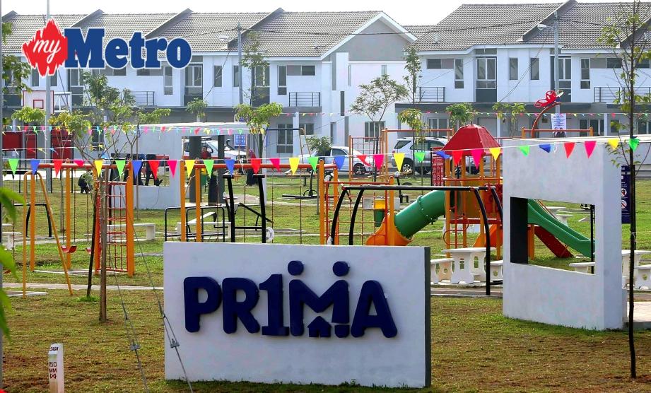 Contoh projek PR1MA di Residensi PR1MA Puteri Jaya, Sungai Petani, Kedah.