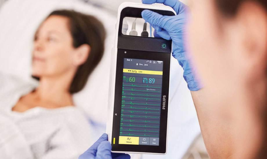 KEADAAN semasa pesakit dikemas kini menerusi alat khas bantu doktor buat pemantauan.