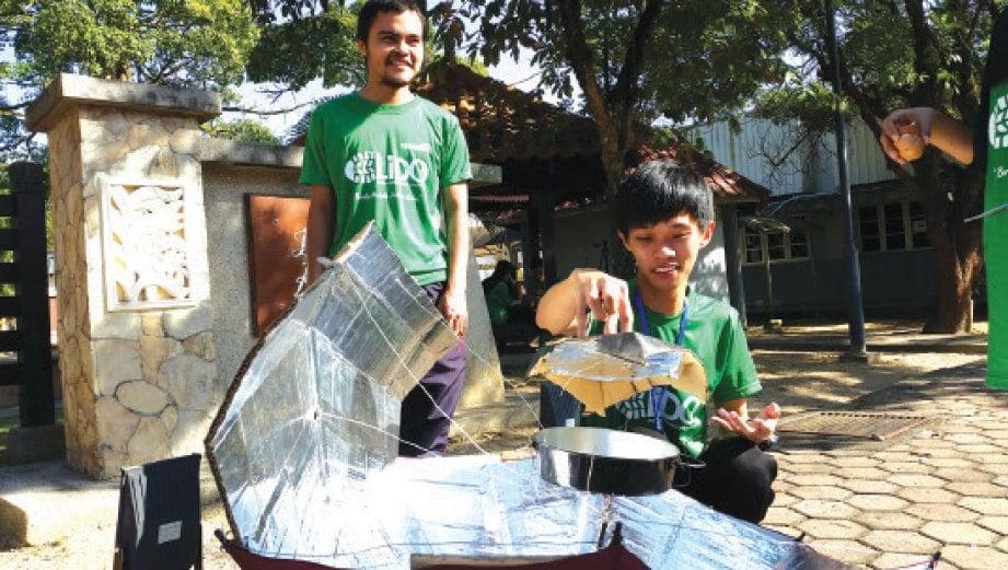 Teroka Proses Memasak Guna Dapur Solar