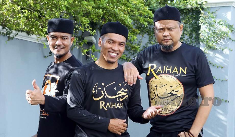 RAIHAN ambil langkah berhati-hati apabila merakamkan single kedua bersama Alif Satar. FOTO Amirudin Sahib