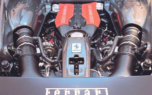 ENJIN menyalurkan 661 hp.