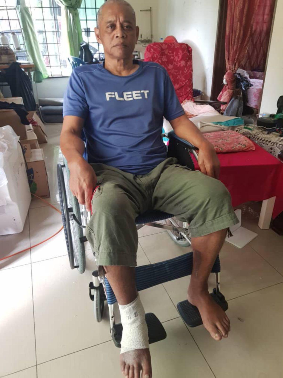 REHAN diminta mengemukakan rayuan kepada Jemaah Doktor Rayuan. FOTO Ihsan Rehan Md Din