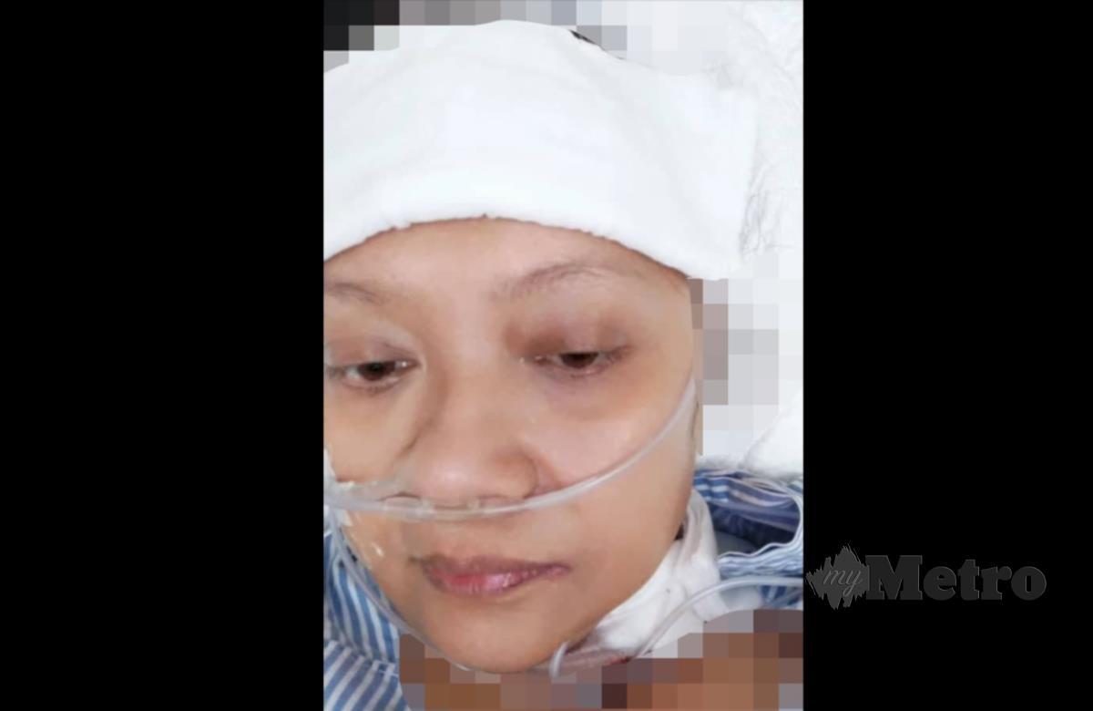 Shahriza sedar dari koma.