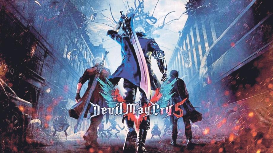 KONSEP sama ditampilkan dalam judul Devil May Cry 5.