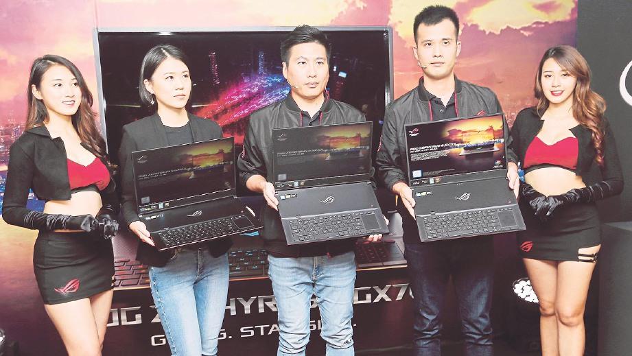 PELANCARAN laptop ASUS ROG Zephyrus S. FOTO Owee Ah Chun
