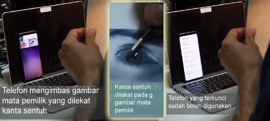 Video: Penggodam Jerman berjaya godam sistem iris Galaxy S8, Samsung kini bertindak balas