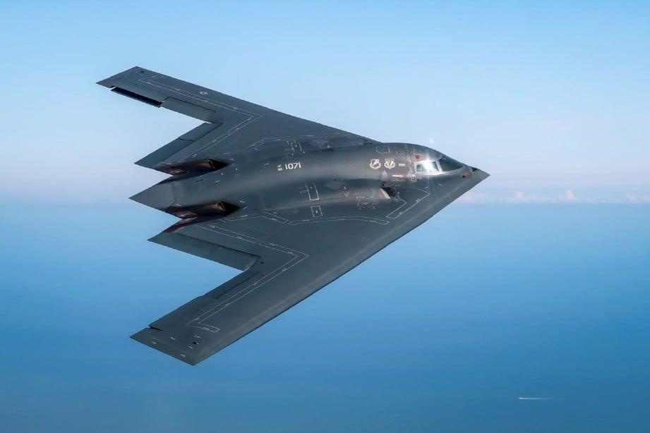 PESAWAT Stealth Bomber. FOTO/AGENSI