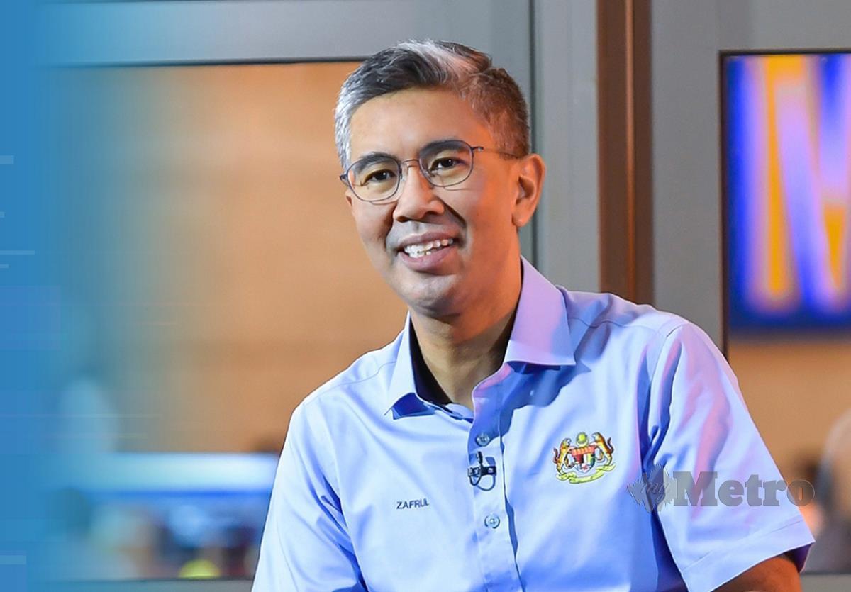 Tengku Datuk Seri Zafrul Abdul Aziz.