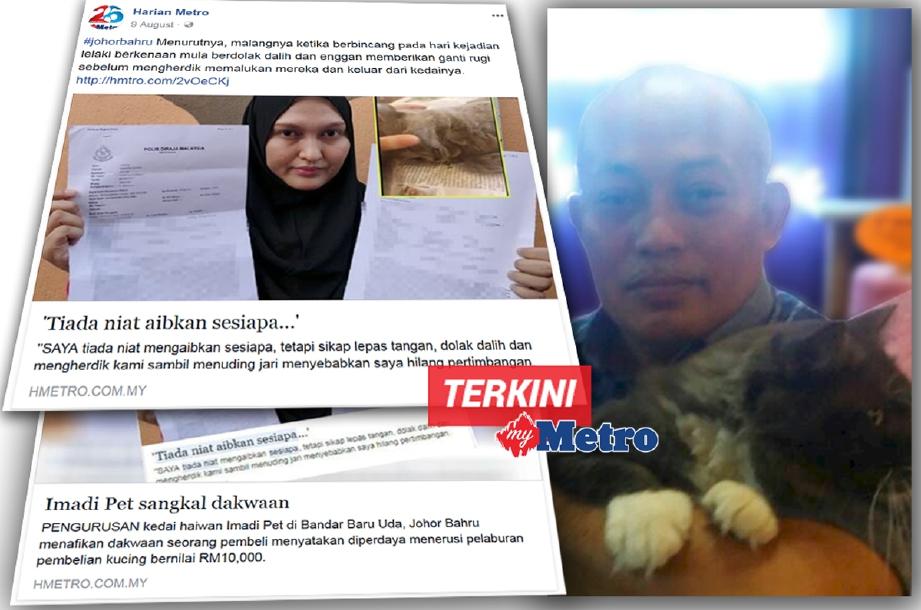 Kucing harga RM10,000 mati: Imadi Pet Global Sdn Bhd bakal saman pelanggan RM2.5 juta kerana cerita viral menyebabkan kerugian pada syarikatnya