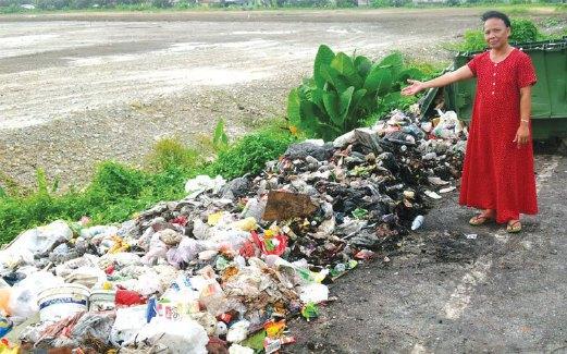 Rimas Lihat Sampah Berlonggok Harian Metro