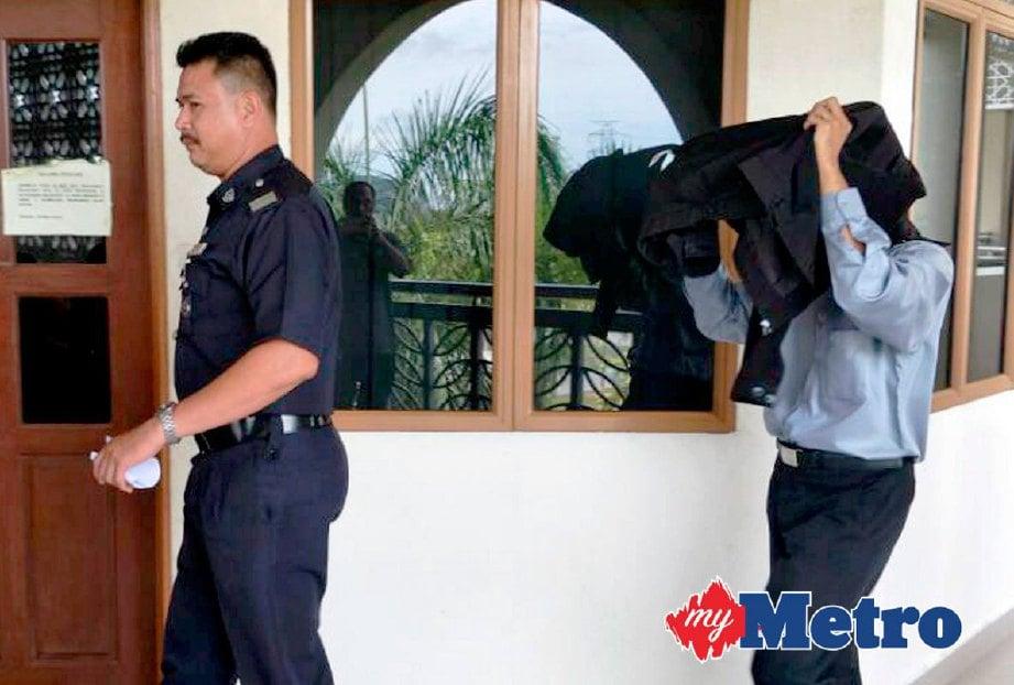 Azahar didapati bersalah atas dua pertuduhan pindaan bersetuju untuk menerima rasuah dua tahun lalu. FOTO MEOR RIDUWAN MEOR AHMAD