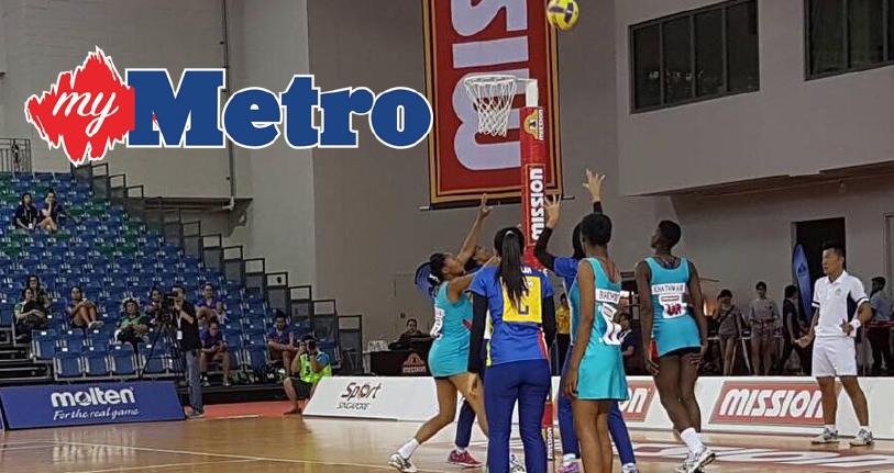 Aksi bola jaring Malaysia makin positif   Harian Metro