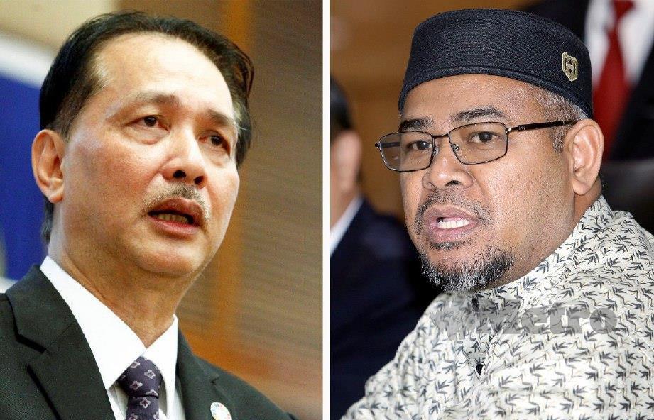 DR Noor Hisham (kiri) dan Mohd Khairuddin. FOTO NSTP