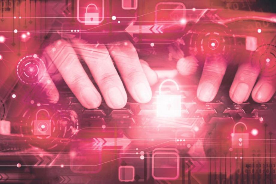SERANGAN siber menerusi pelbagai platform.