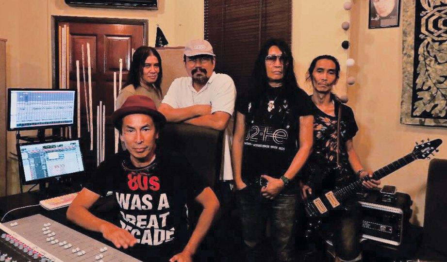 KESERASIAN M Nasir dengan Search wujud sejak album pertama pada 1985.
