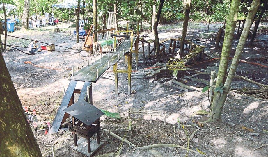Cabaran Siput Park Harian Metro