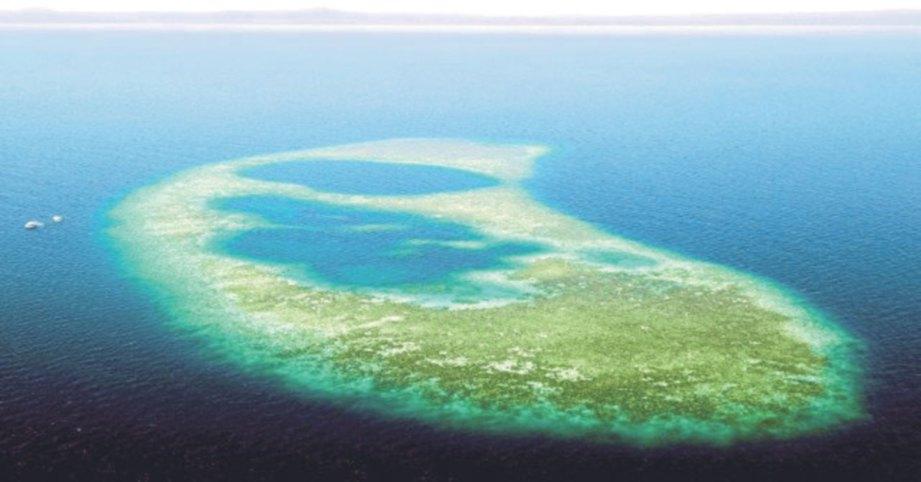 TERLETAK di Teluk Darvel. FOTO NSTP