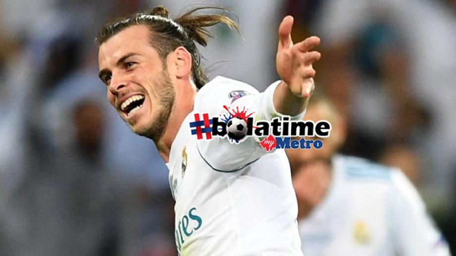 BINTANG Real Madrid,Gareth Bale.