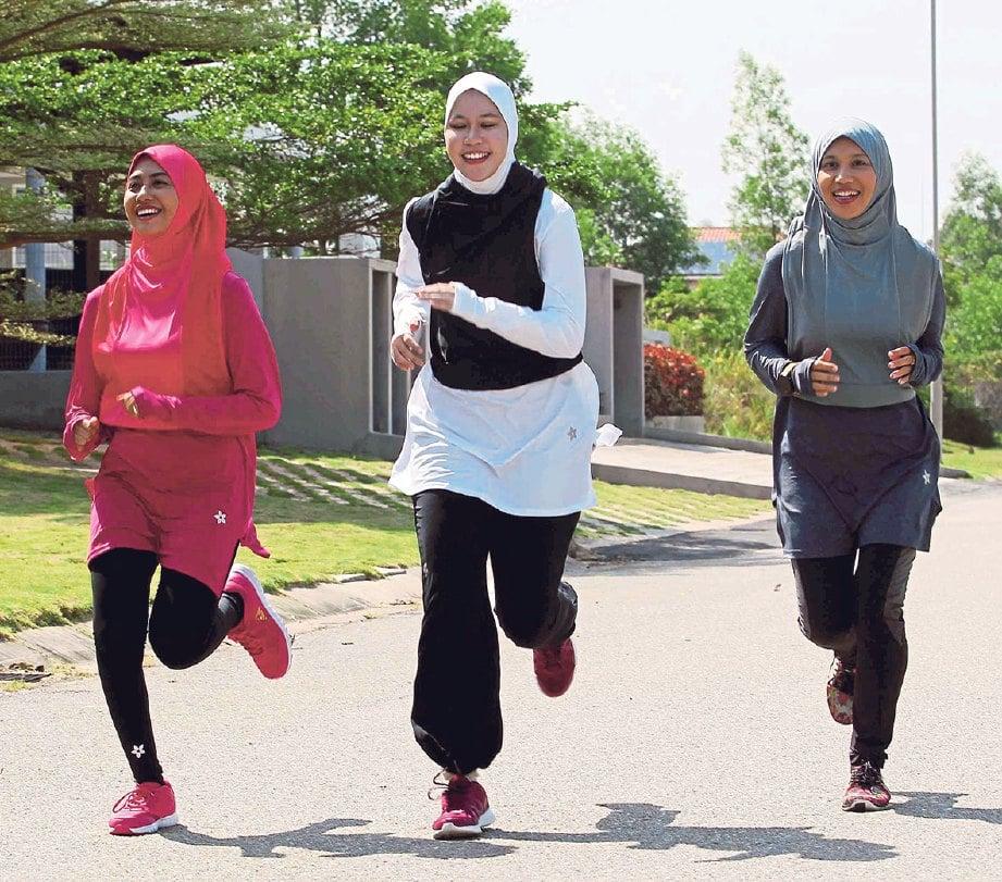 MEMBERI keyakinan kepada wanita untuk menjalani gaya hidup sihat.