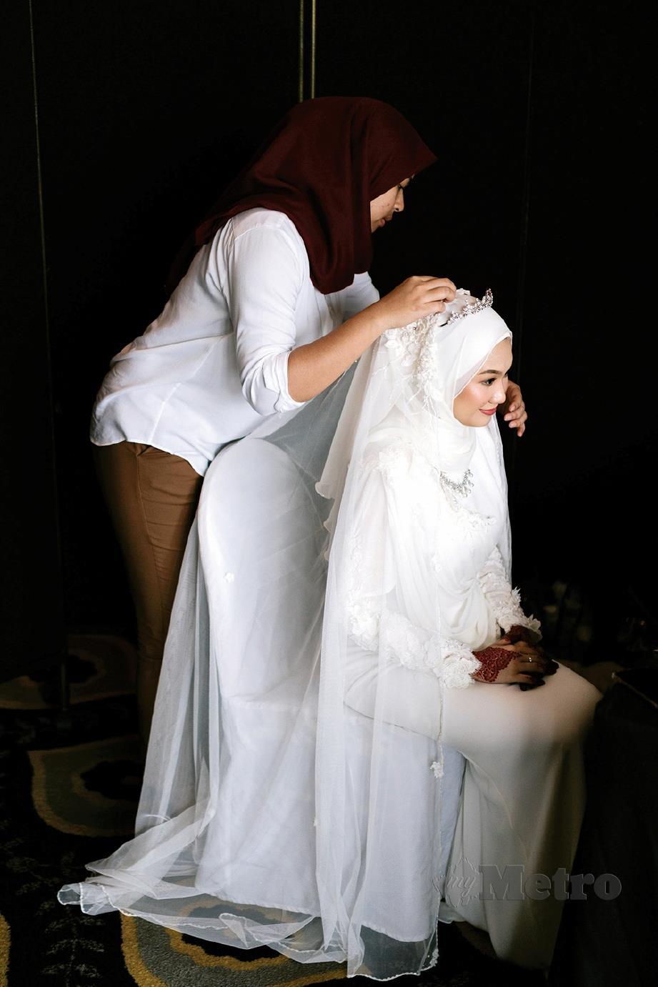 TATARIAS pengantin antara perkara dilakukan Intan.
