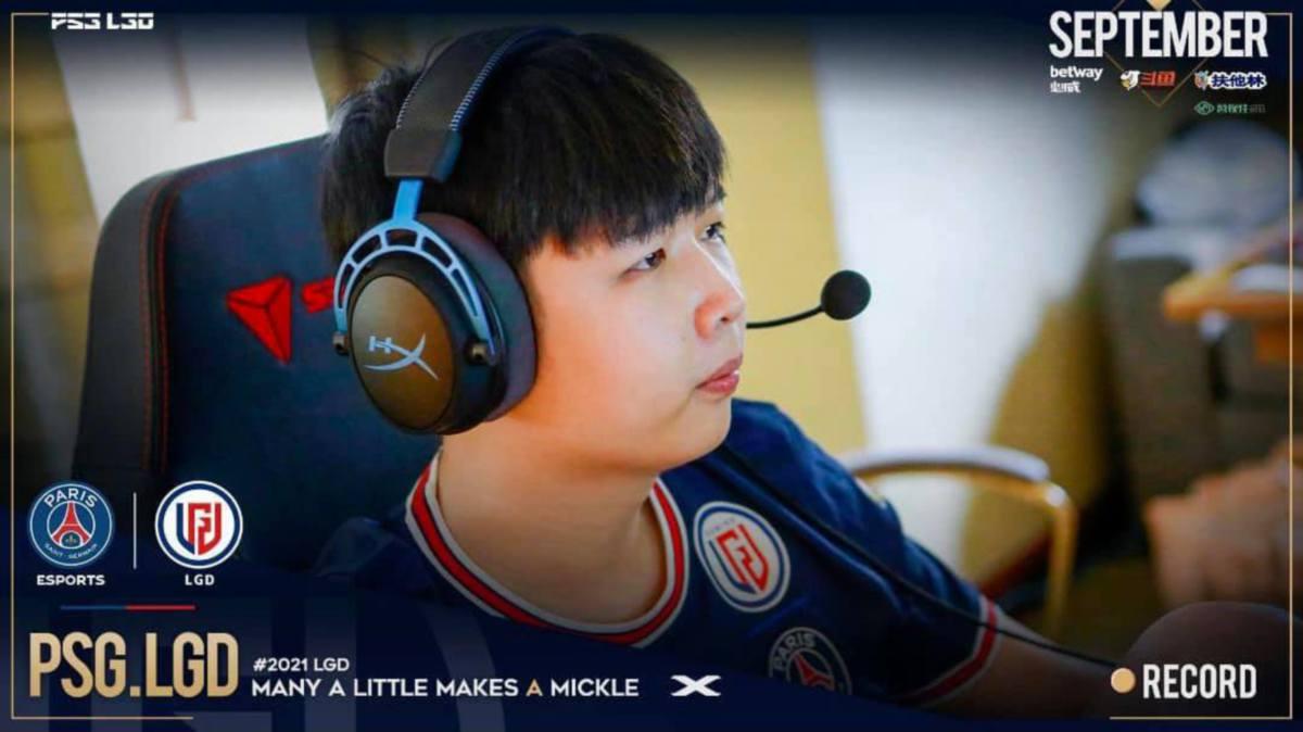 CHENG Jin Xiang. FOTO PSG Esport