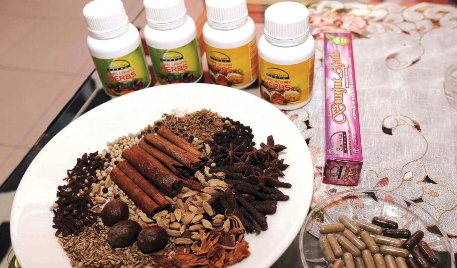 HASILKAN produk sendiri berasaskan 23 herba.